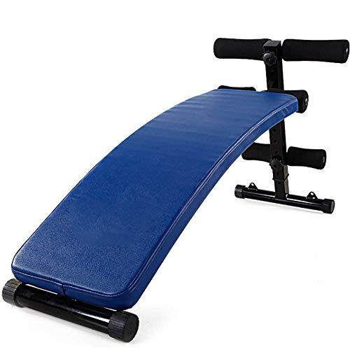YAJIAN Tablero supino plegable, equipos de fitness de múltiples funciones, músculos abdominales...