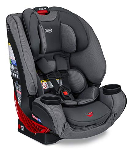 Britax One4Life ClickTight All-in-One Car Seat – 10 Years of Use – Infant, Convertible, Booster – 5 to 120 Pounds - SafeWash Fabric, Drift
