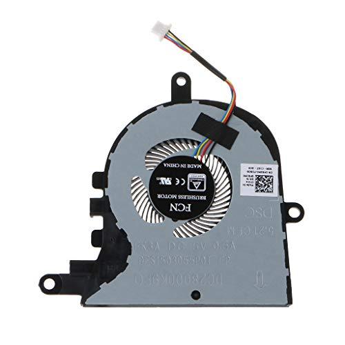 geneic CPU-Lüfter Ersatz für Dell Latitude 3590 L3590 E3590 für Inspiron 15 5570 5575 Laptop Lüfter Kühler Zubehör