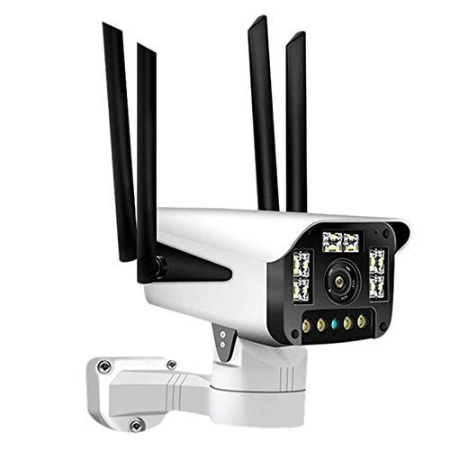 Cámara IP Inalámbrica WiFi CCTV para Exteriores, Cámara De Vigilancia De Seguridad para El Hogar Full HD 1080P, Visión Nocturna, Detección De Movimiento, IP67 A Prueba (Size:1080PCamera,Color:1080P)