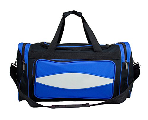 Crown Sporting Goods 600HD Tuff Tuch Canvas Duffle Bag, 20/Mittel, blau