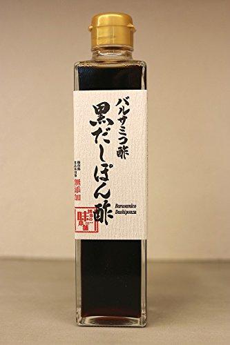 博多の味本舗 バルサミコ酢黒だしぽん酢 300ml