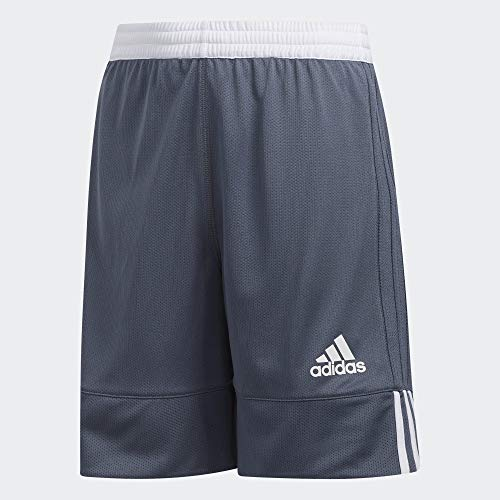 adidas Kinder 3G Speed Reversible Shorts, Onix/White, 164