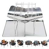 NoToKoon バーベキューコンロ 焚き火台 ファイアグリル コンパクト ステンレス製 BBQ アウトドア キャンプ