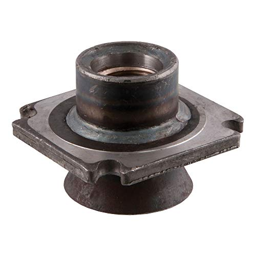 CURT 28956 Replacement Direct-Weld Square Jack Lifting Nut for #28512