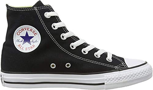 Converse Unisex Chuck Taylor All Star High Top Sneakers Black/White 9...