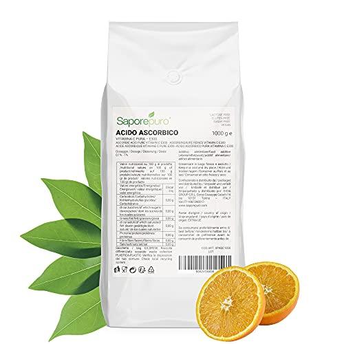 Acido ascorbico puro - Vitamina C - 1 Kg