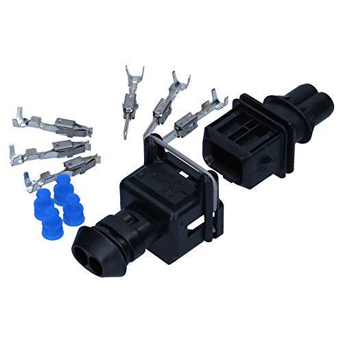 AMP JPT Set 2-polig 0,5-1,0mm² Reperatursatz Stecker Satz Kfz Auto