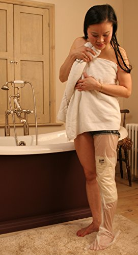 Adult Full Leg Waterproof Cast and Dressing Cover (Standard (5'5'-6'0'))