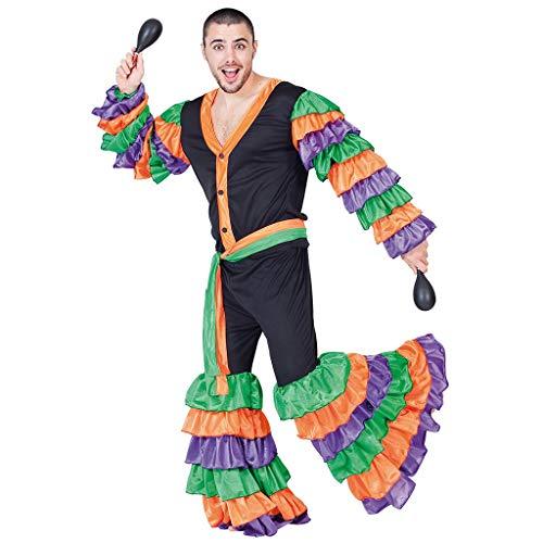 Fyasa 705879-t04brasileño disfraz de hombre, grande