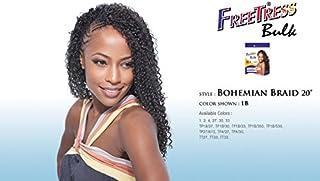 "BOHEMIAN BRAID 20"" (TT30) - Freetress Synthetic Braiding Bulk Crochet Hair"