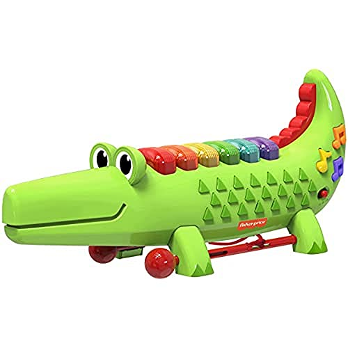 Fisher-Price Licensing Crocodile Xylophone, 22282, Green