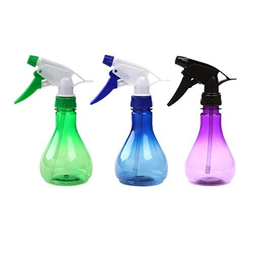 Huluda 500ml Plastic Transparent Trigger Empty Water Spray Bottle Atomizer Flower Plant