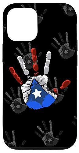 iPhone 12/12 Pro Puerto Rico Hand Print - Boricua Flag - Puerto Rican Pride Case