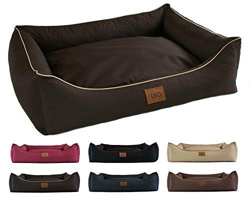 Sofá Leo4dog Leo Codura (poliéster). Disponible en tamaños, M, L, XL, XXL, XXXL, en 6 colores. Cama para perros, almohada para perros, sofá para perros, cesta para perros