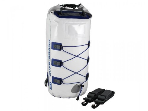 Overboard Boatmaster OB1016WHT Waterproof Backpack White 20 l by Overboard