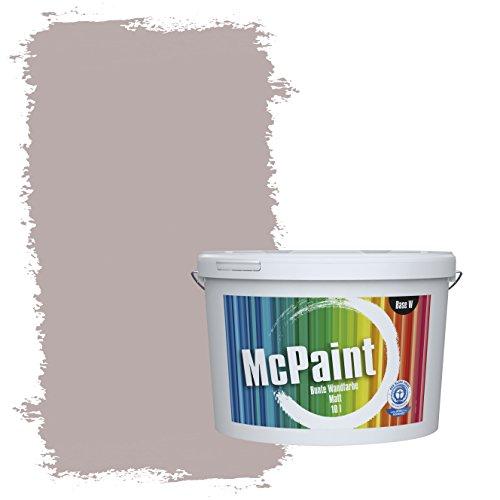 McPaint Bunte Wandfarbe Wolfsgrau - 5 Liter - Weitere Graue Farbtöne Erhältlich - Weitere Größen Verfügbar
