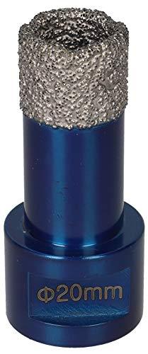 PRODIAMANT Premium Diamant Fliesenbohrer Fliese Feinsteinzeug 20 mm x M14 PDX955.880 20mm passend für Winkelschleifer