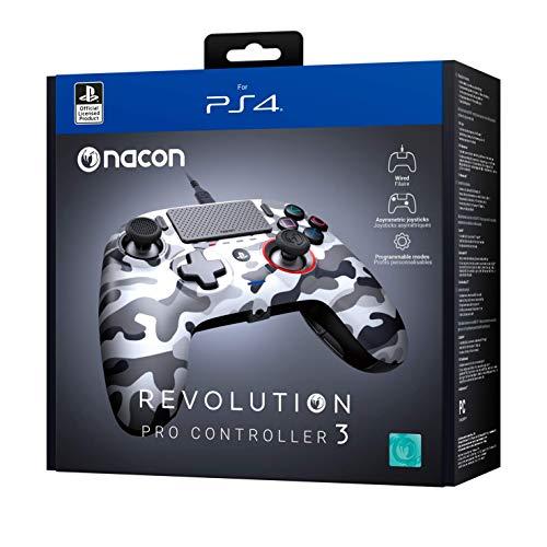 Nacon Mando Revolution Pro Controller 3 - PS4 y PC Camuflaje
