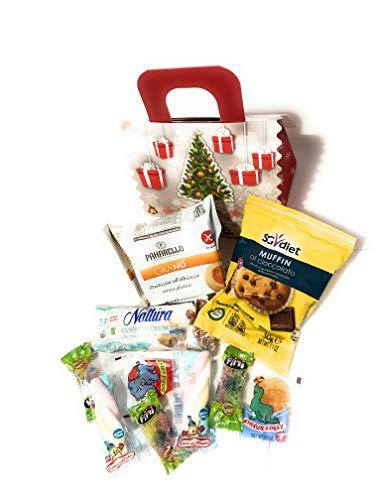 Box Casa Natale dolci e caramelle 30 prodotti alimentari