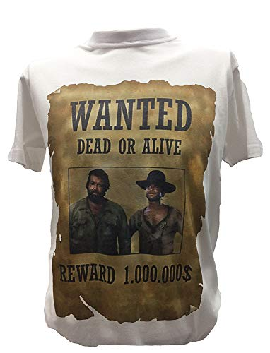 T Shirt Bud Spencer Terence Hill Herren Kinder Kultfilme der 80er Tshirt, Kinder 12-14 Jahre