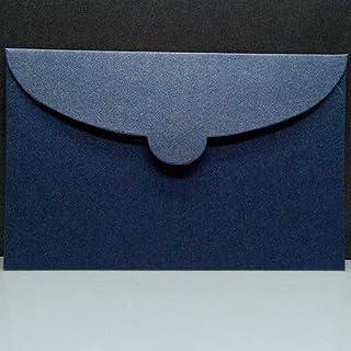 CHUJIAN 50pcs/lot Vintage Pearl Paper Envelopes 7 Colors Kraft Envelope For Wedding Invitation Envelope Gift Envelope (Col...