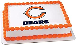 NFL Chicago Bears Licensed Edible Sheet Cake Topper #4492