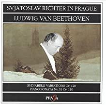 Sviatoslav Richter in Prague- Beethoven: 33 Diabelli Variations, Op. 120 / Piano Sonata No. 31, Op. 110