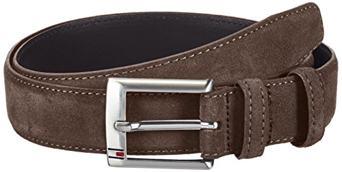 Tommy Hilfiger Boston Belt Ceinture, Marron (Chocolate Brown), FR: 100 cm (Taille fabricant: 100) Homme