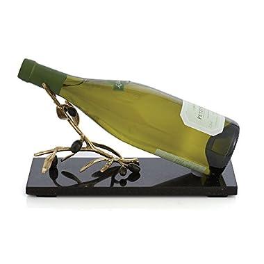 Michael Aram Olive Branch Wine Rest, Gold