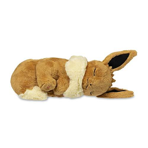 Pokemon Sleeping Eevee Fluffy Plush