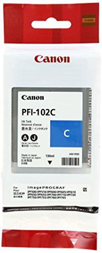 Canon 純正インクタンク シアン PFI-102C 0896B001