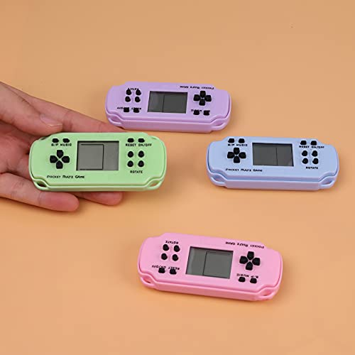 Tetris-Handheld Game Console, Retro Mini Game Player with Nostalgic Classic Game, Portable...