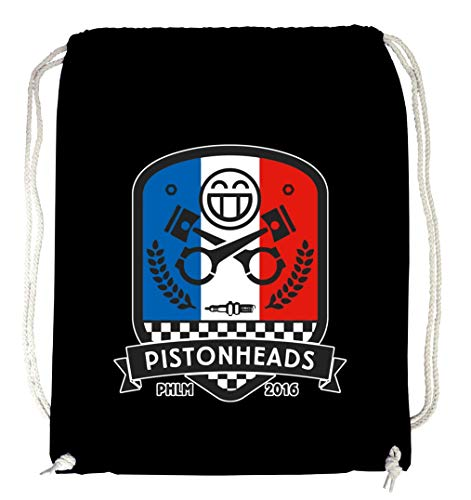 Certified Freak Pistonheads Shield Gymsack Black