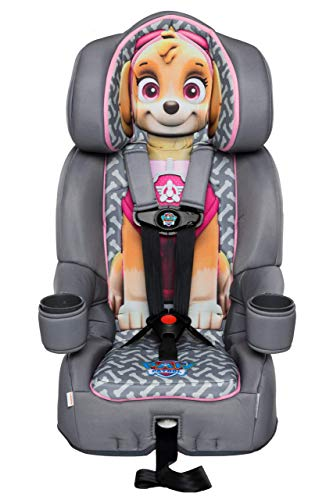 KidsEmbrace 2-in-1 Harness Booster Car Seat, Nickelodeon Paw Patrol Skye