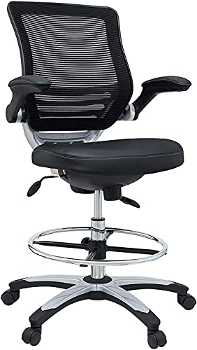 Modway Edge Drafting Chair - Reception Desk Chair