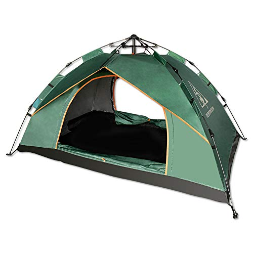 Robinson Camping Outdoor Tent 2-3 Persons Waterproof Instant Cabin Tent Glamping pop up for Sale Beach Supplier