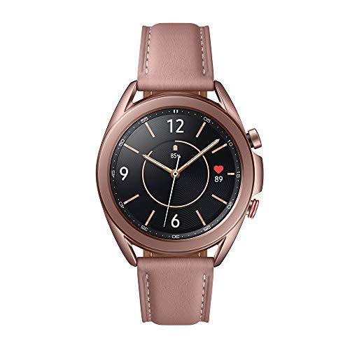 Samsung Galaxy Watch3 Smartwatch de 41mm I LTE I Reloj inteligente Color Bronce I Acero [Versión española]