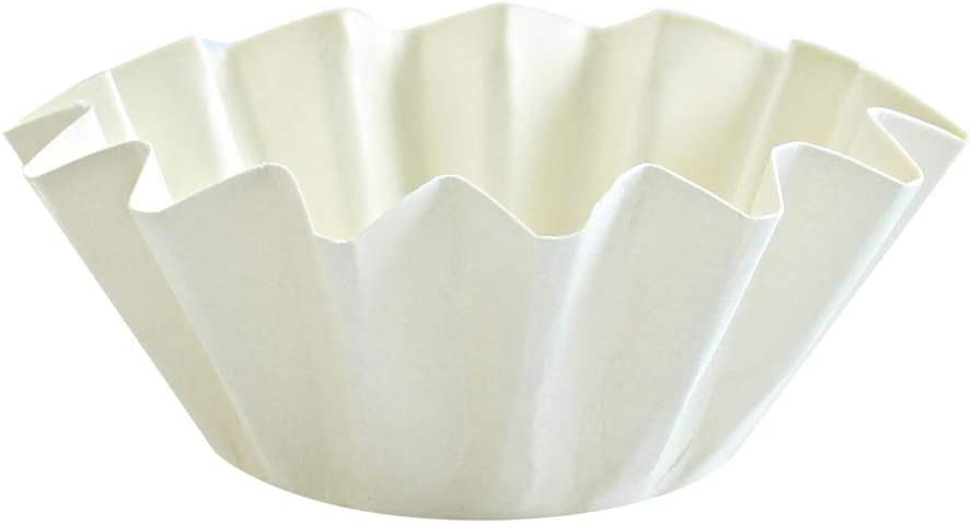 NEW before selling ☆ Floret Baking Cups White of 20 Pack Large 67% OFF of fixed price