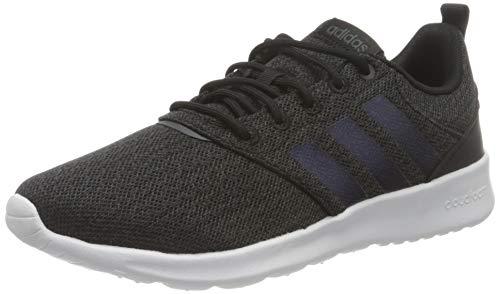 adidas QT Racer 2.0, Zapatillas de Running Mujer, NEGBÁS/IRIDES/GRISEI, 38 EU