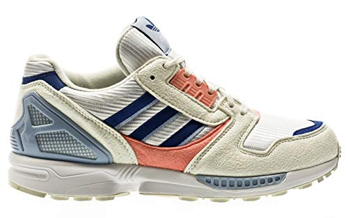adidas Originals ZX 8000, Footwear White-royal Blue-Glory pink, 5