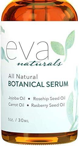 Botanical Anti Aging Face Oil Serum All Natural Plant Based Facial Serum Organic Jojoba Oil product image