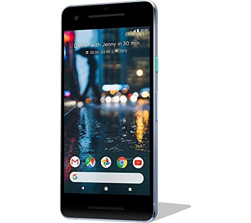 "Google Pixel 2 5 ""SIM simple 4G 4GB 64GB 2700mAh Noir, Bleu"