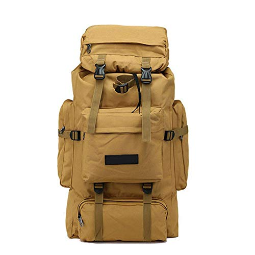 Hiking Backpack Yuan Ou 70L Tactical Bag Military Camping Mountaineering Men Travel Outdoor Sport Bags Backpacks Hunting Khaki