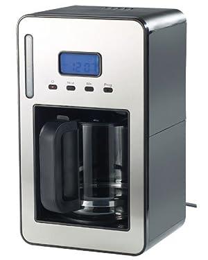 Rosenstein & Söhne Kaffeeautomat: Programmierbare Kaffeemaschine für bis zu 12 Tassen, 1.000 Watt (Kaffeemaschine mit Timer)