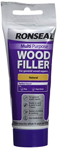 Ronseal RSLMPWFN100G 100g Multi-Purpose Natural Wood Filler...