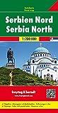 Serbien Nord, Autokarte 1:200.000: Citypläne. Ortsregister mit Postleitzahlen. Entfernungen in km (freytag & berndt Auto + Freizeitkarten)