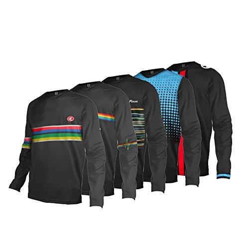 Uglyfrog 2019 Jersey Motocross Jersey Enduro MX Cross Trikot Mountain Bike Downhill Shirt Herren Radtrikot Fahrradtrikot Radshirt Long Sleeve Spring Style