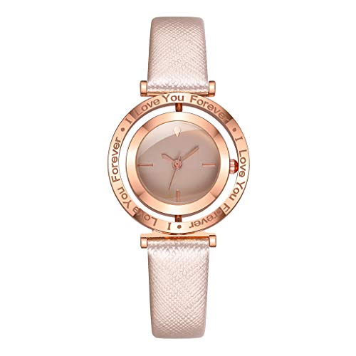 Posional Relojes Pulsera Calendario Números Romanos Pequeño Analógico Reloje Mujer Cuero Elegante Ultrafino Impermeable Cronómetros Wristwatches