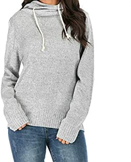 LICHONGGUI Casual Long-Sleeved Hooded Sweater, Size:XL(Gray) 2020 hot Tops (Color : Gray, Size : M)